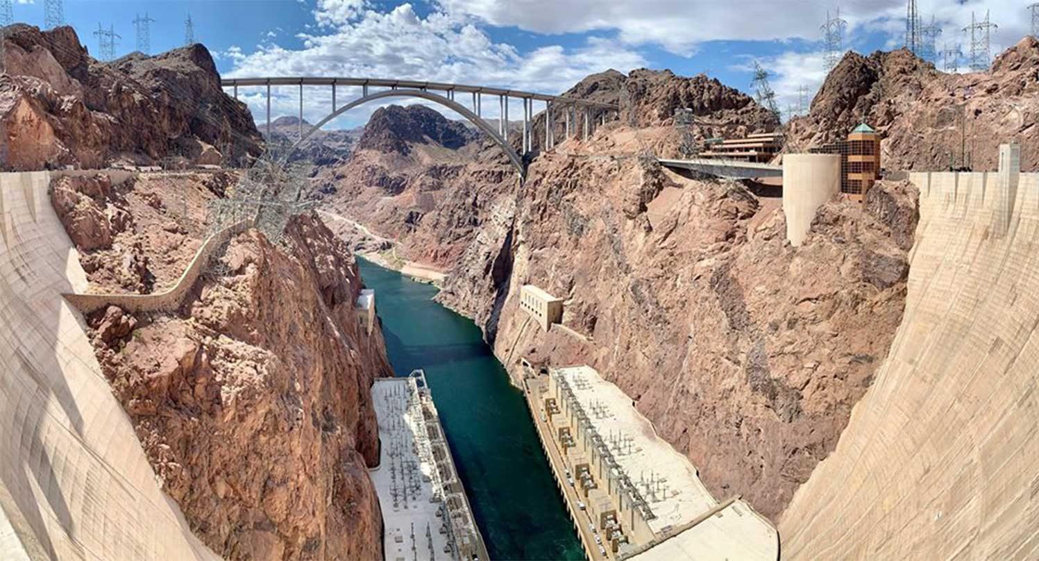 Плотина Гувера Невада США фото