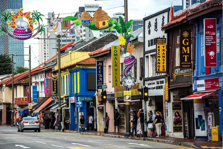 Маленькая Индия. Сингапур