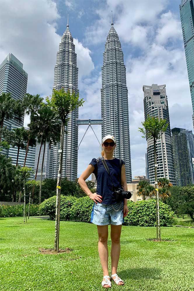 Башни Петронас Куала-Лумпур фото