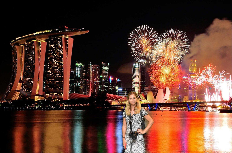 новогодняя ночь 2020 Сингапур