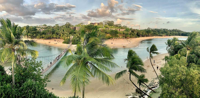 Остров Сентоса Сингапур
