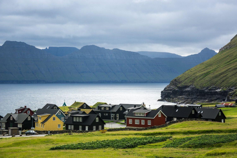 Групповое путешествие на Фарерские острова достопримечательности Деревня Джегв фото