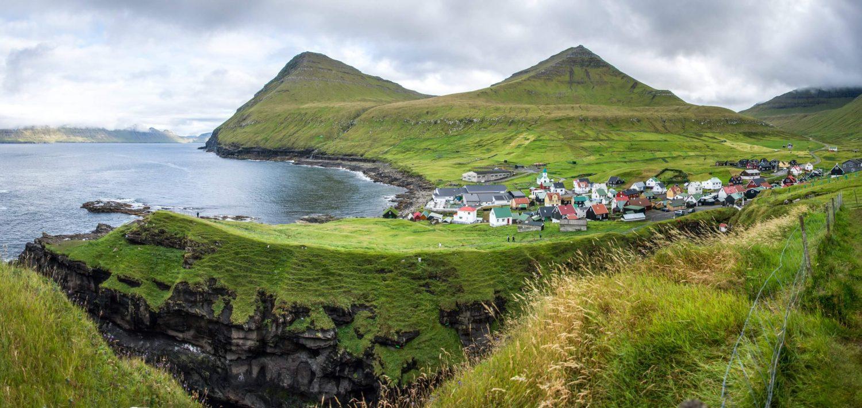 Групповое путешествие на Фарерские острова достопримечательности Деревня Джегв